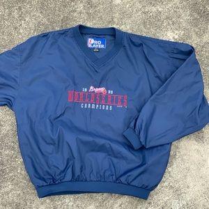 VTG 1995 Braves World Series Champions Pullover